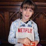 Mixing snacks and Netflix
