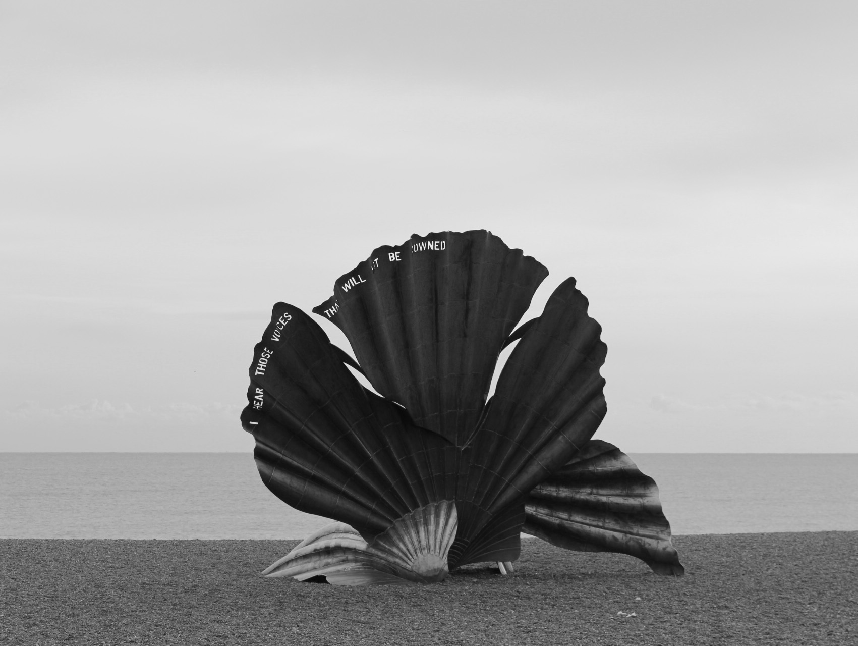 The Scallop at Adleburgh
