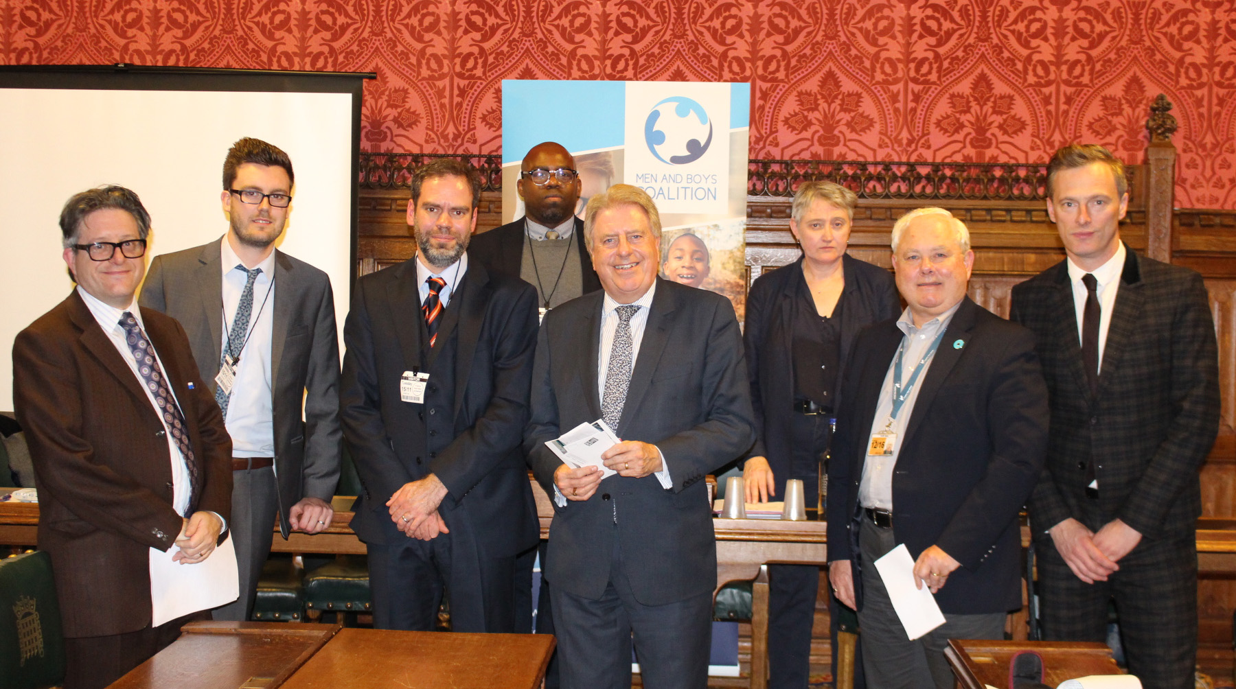 Men and Boys Coalition, David Evennett MP, Davif Evennett