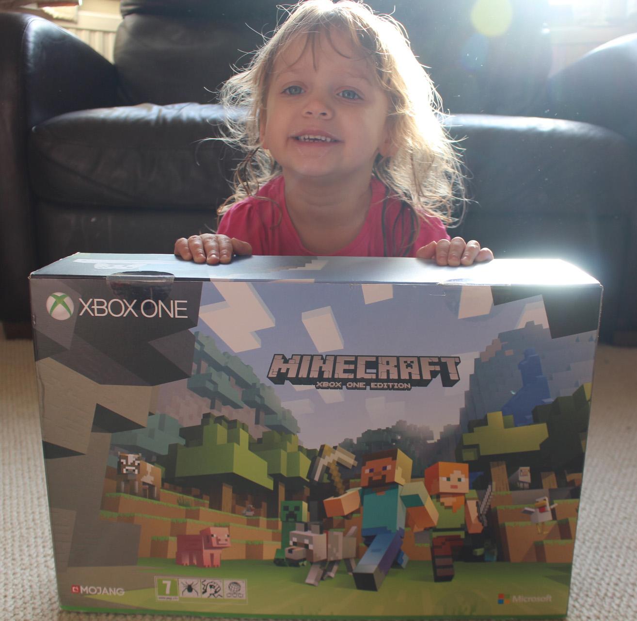 Xbox, Xbox One S, Xbox S, Minecraft