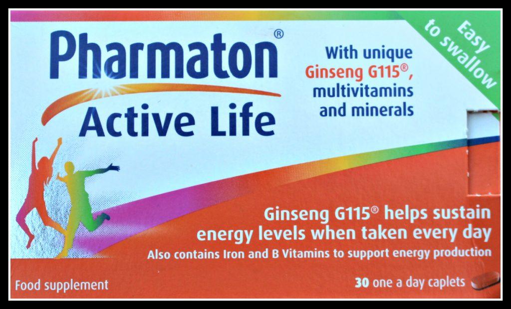 Pharmaton, Pharmaton 30 Day Challenge, Pharmaton vitality, supplements, health supplements