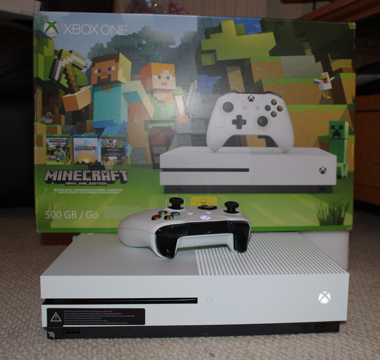 Xbox, Xbox One S, Minecraft, games, gaming, revoiew, Xbox One S review