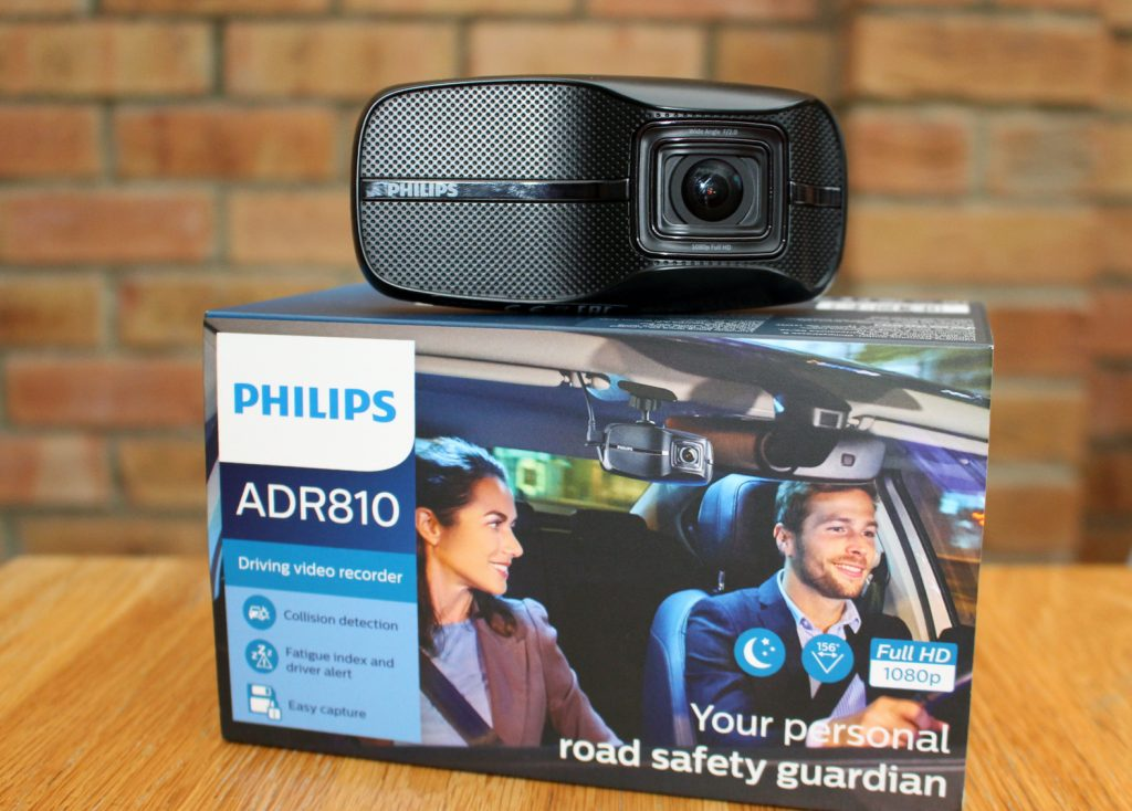 Philips, Philips ADR810, dashcam, dashcam review