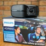A dashcam from a household name: the Philips ADR810