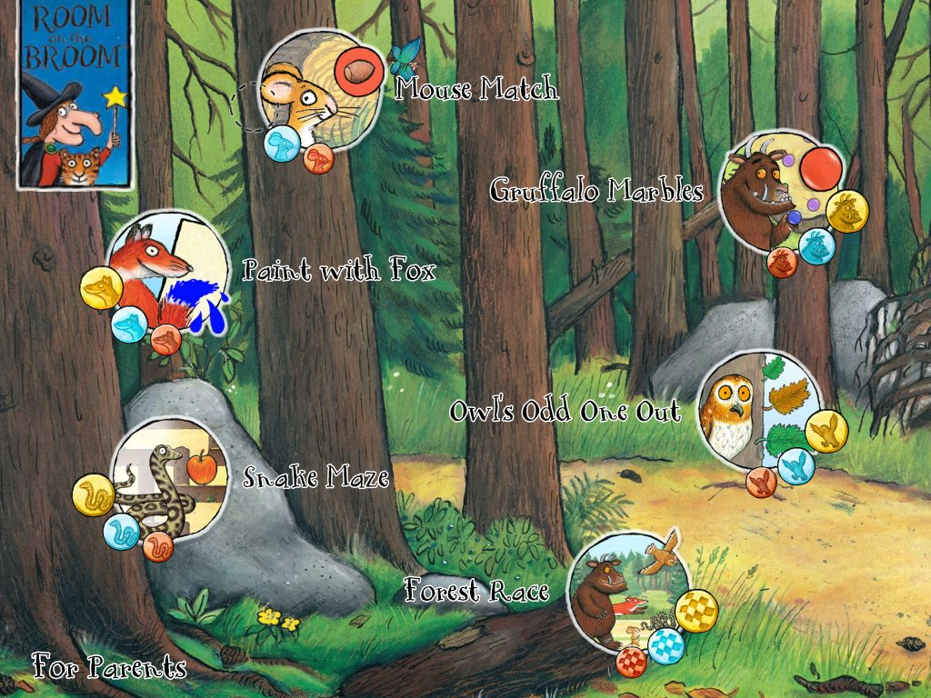The Gruffalo, Gruffalo Puzzles, app, reviews, review, apps for children