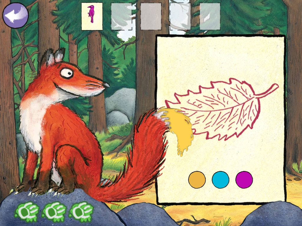 Gruffalo, The Gruffalo, Gruffalo Puzzles, apps for children