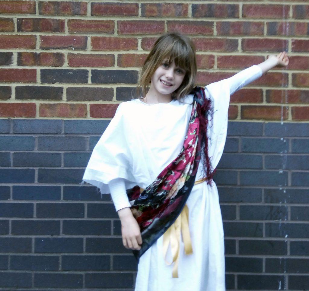 costume, school, schooling, Greek, ancient Greece, himation
