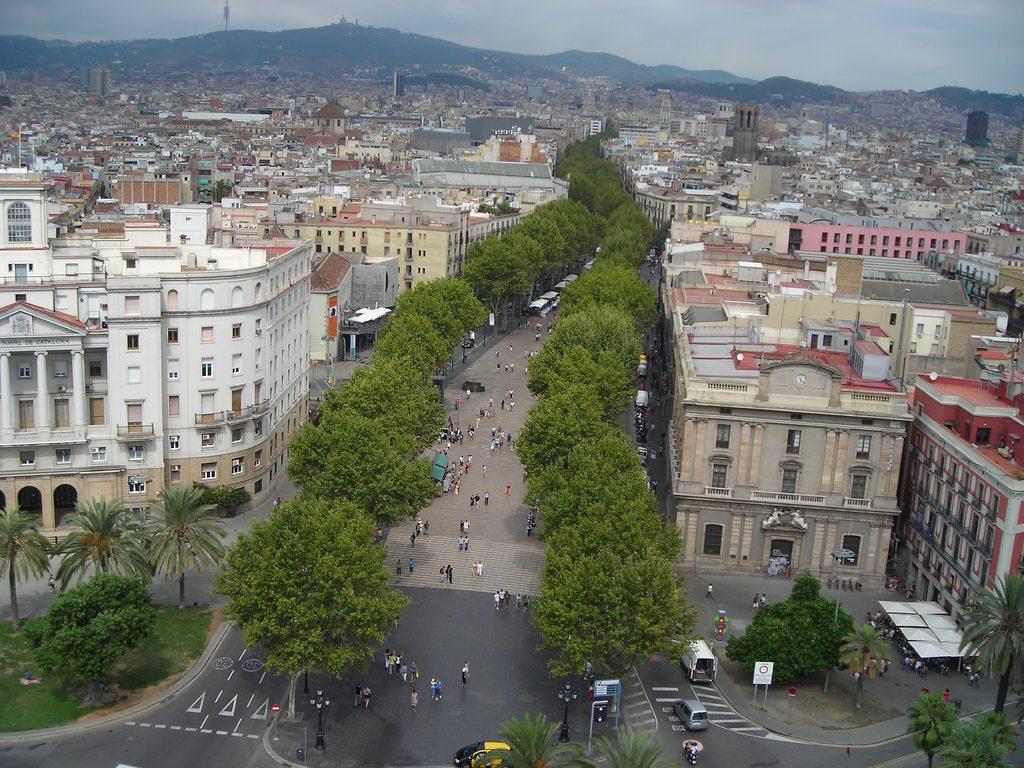 Barcelona, Avis guide to Barcelona, Las Ramblas, La Rambla
