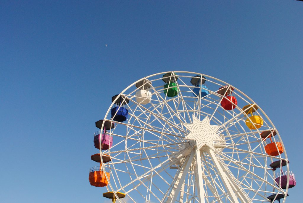 Barcelona, Avis, Tibidao Amusement Park,
