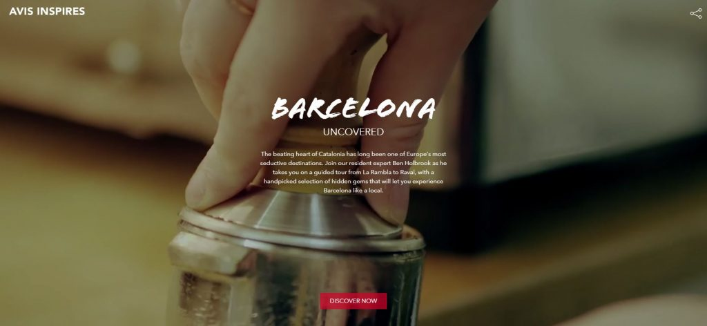 Barcelona travel guide, Avis, travelling with children, car rental, car hire