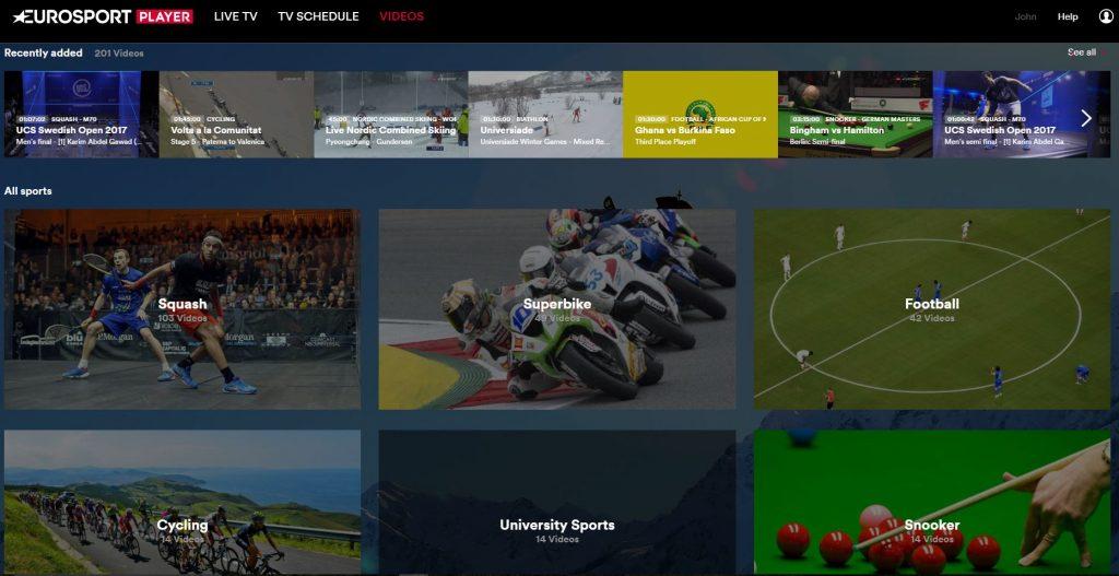 Eurosport, Eurosport Player, reviews, Eurosport Player review