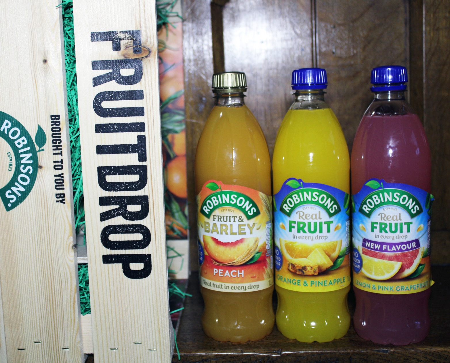 Robinsons Fruit Drop: Helping the family to drink more water
