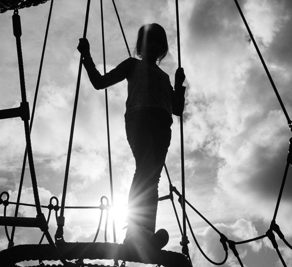 climbing frame, silhouette, #MySundayPhoto, photogtaphy, photograph