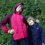 New coats for the girls from Blacks