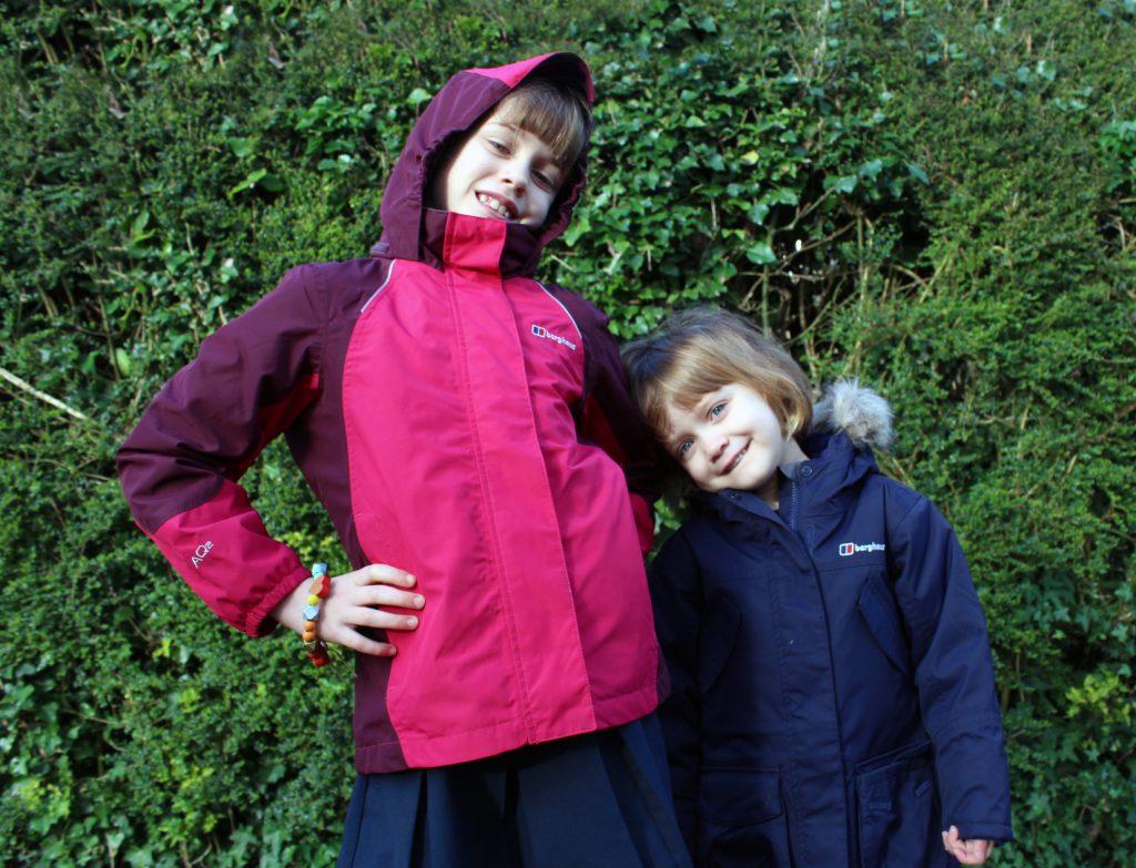 Berghaus, Blacks, coats, children's fashion, chiildren's coats.