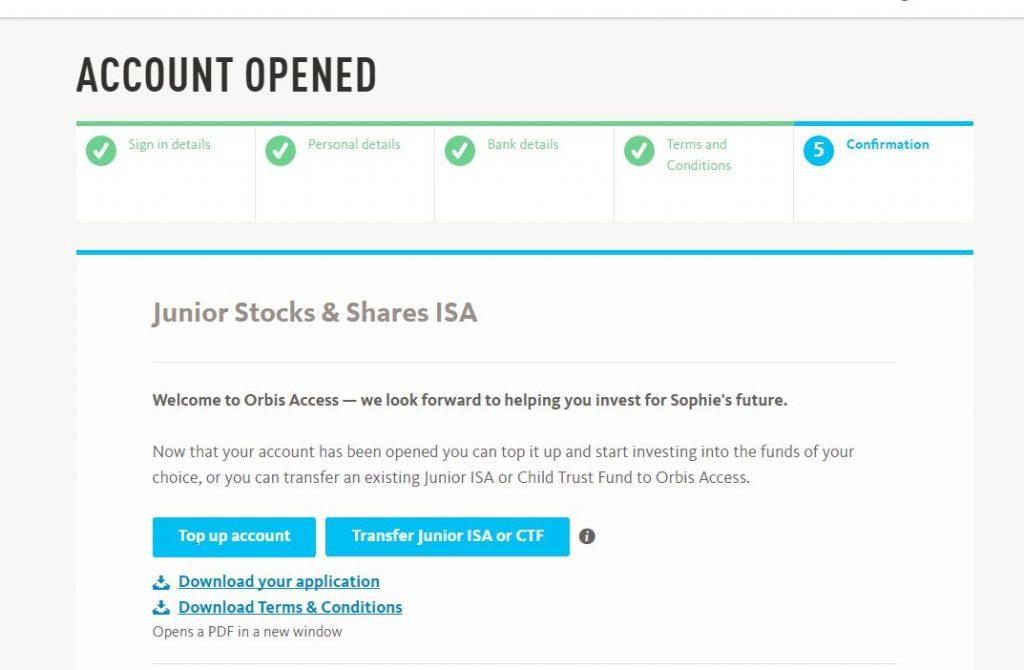 JISA, Orbis Access, investments, dadbloguk, dadbloguk.com