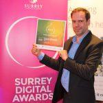 Gold Award Winner, Surrey Digital Awards!