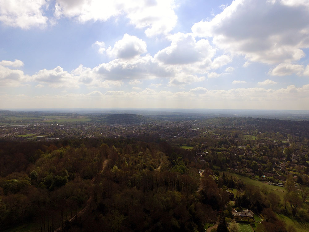 Drone photography: East Surrey landscape