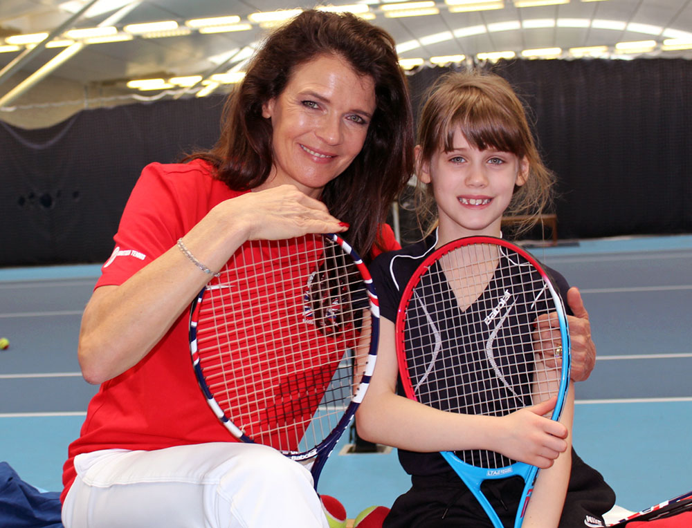 #TennisForKids, tennis For Kids, dadbloguk, dadbloguk.com, school run dad, active children, Annabel Croft
