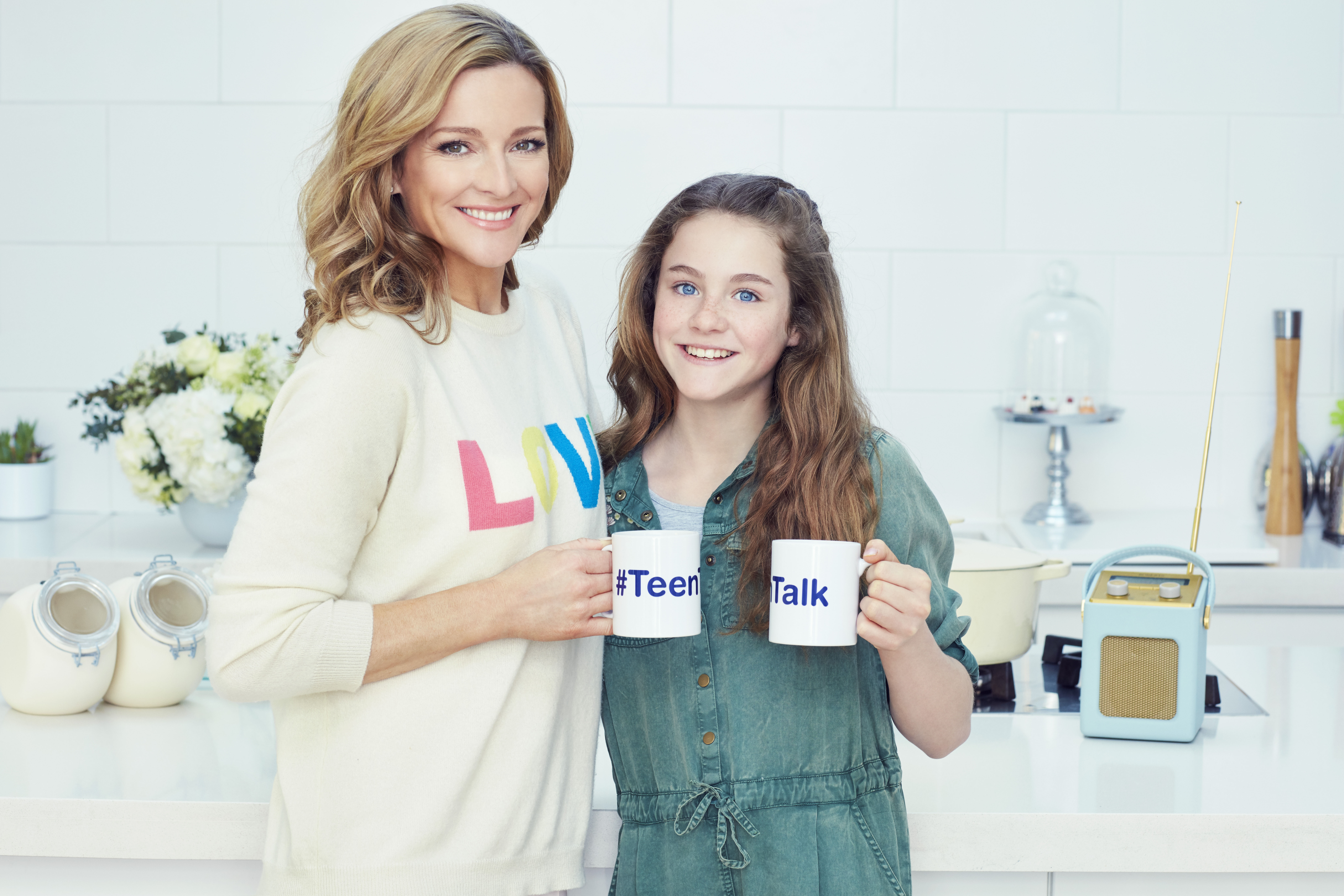 Gabby Logan, Lois Logan, #TeenTalk, puberty, periods, period, dad blog uk, dadbloguk.com, school run dad,