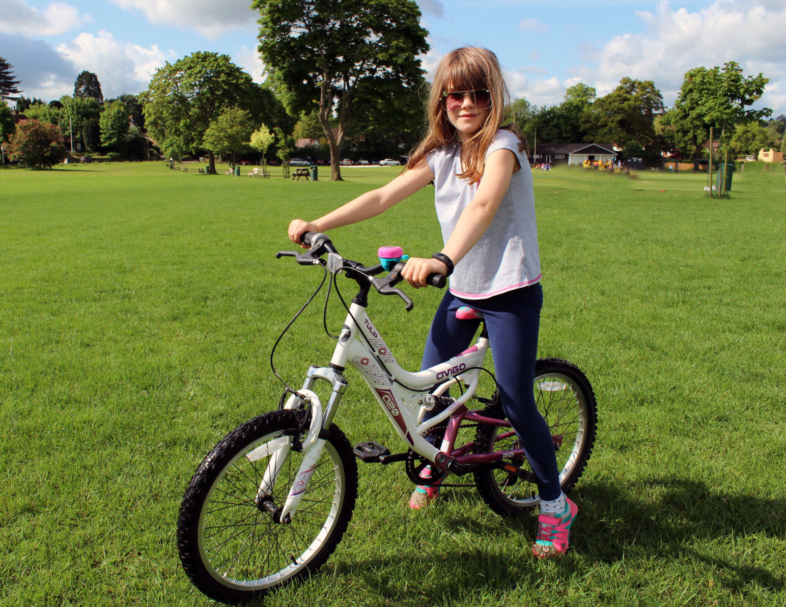 new bike, child's bike, active children, healthy children, dad blog uk, dadbloguk.com, school run dad, parenting advice