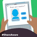 #ShareAware – talking to your child about online safety