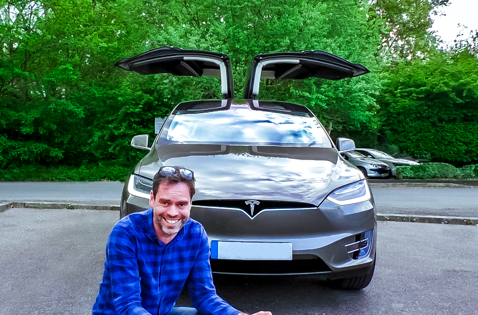 Tesla, Tesla Model X, dadbloguk, dadbloguk.com, school run dad, EVr, EVr Go Electric