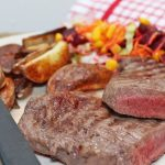 Father's Day treat: Luxury gaucho steak with Russian salad
