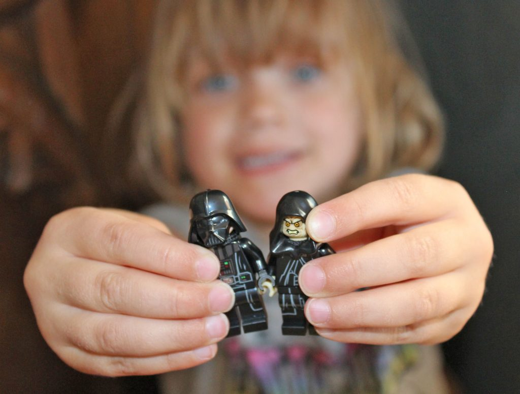LEGO, Darth Vader, Emperor Palpatine, dadbloguk, dad blog uk, school run dad