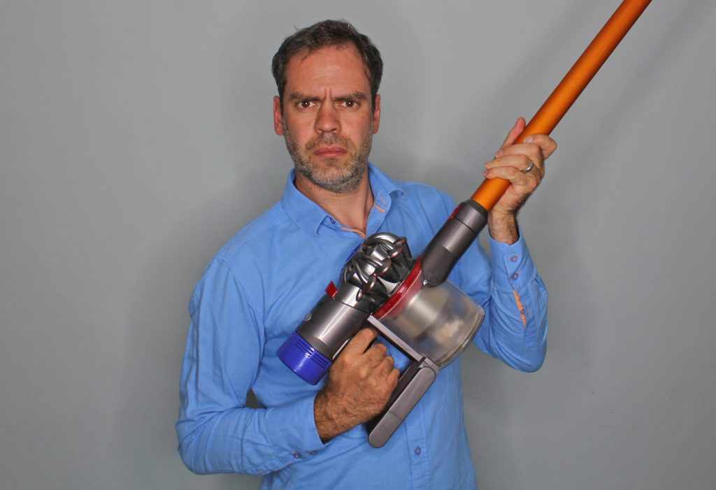 how exciting is a dyson v8 absolute dad blog uk. Black Bedroom Furniture Sets. Home Design Ideas
