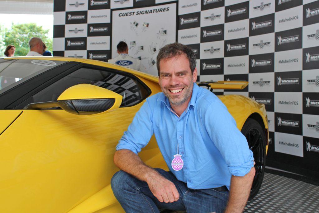 Ford GT, Goodwood, Goodwoodfestival of Speed, Micheiln, Michelin Tyres, John Adams, blogger John Adams, dadbloguk, dadbloguk.com, dadbloguk. school run dad