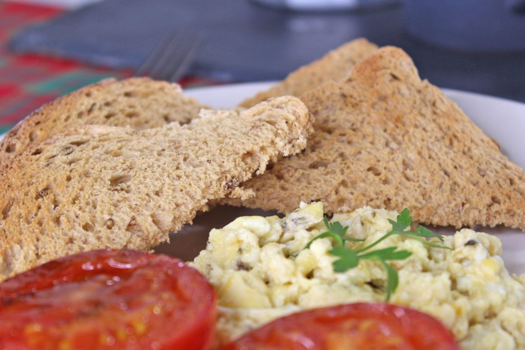 Iceland, bread, #poweroffrozen, scrambled egg, brunch