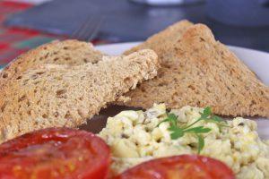 Iceland, bread, #poweroffrozen, scrambled egg, brunch