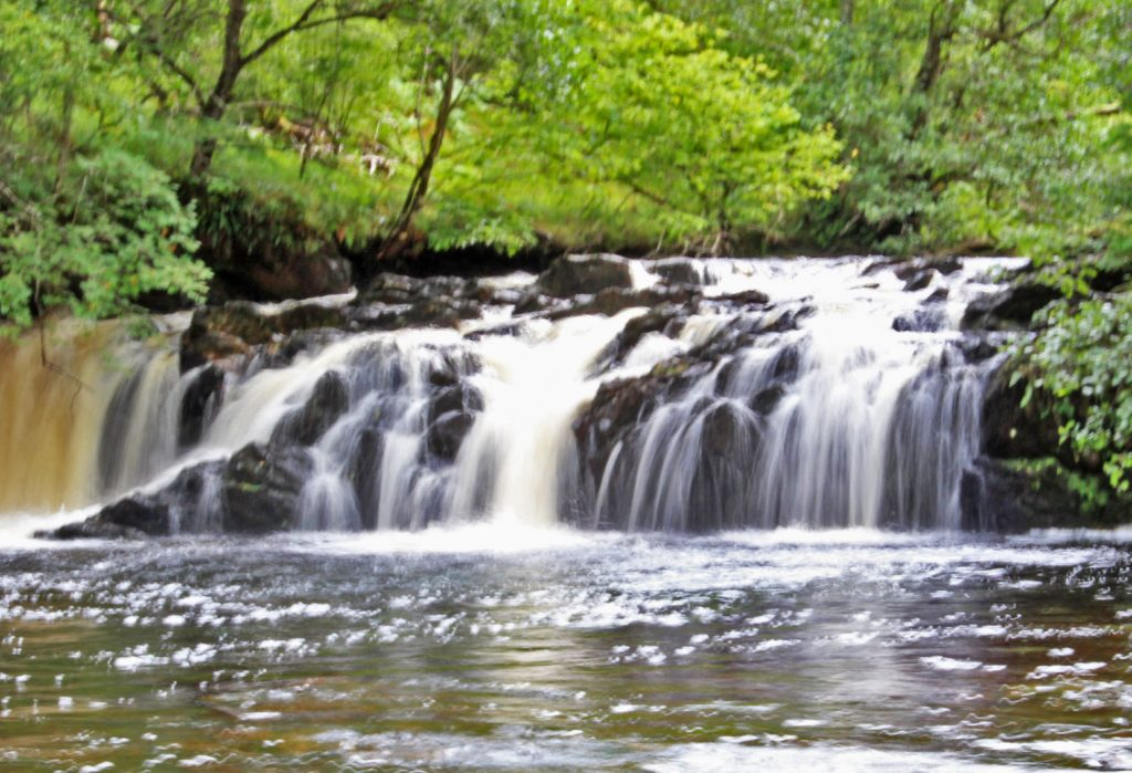waterfall, photography, long expsoure photograph, Argyll and Bute, Oban, Glencoe, Scotland, dadbloguk, dadbloguk.com, dad blog uk, school run dad