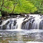 The scenery of West Scotland: Waterfall
