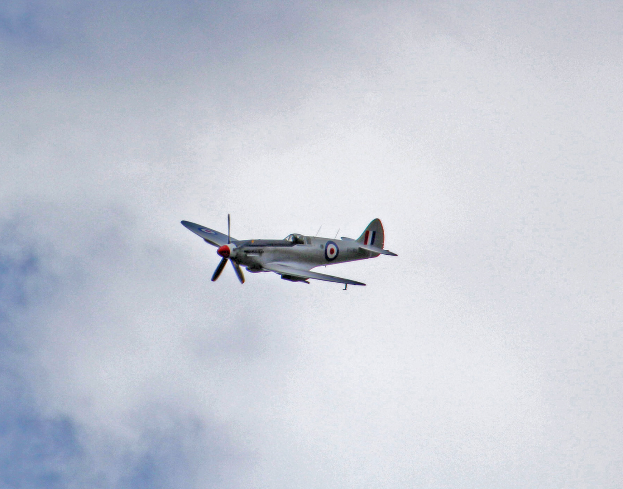 Spitfire in flight!