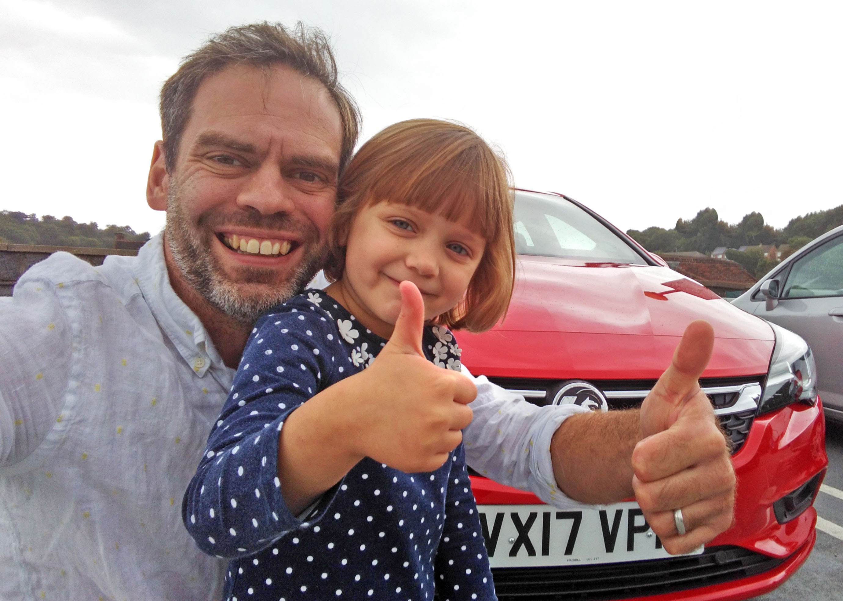 Celebrating life's #smallvictories with Vauxhall