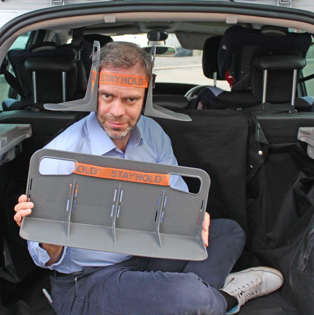 Stayhold, Velcro, review, reviews, dadbloguk, dadbloguk.com, dad blog uk, stay at home dad, school run dad, motoring reviews