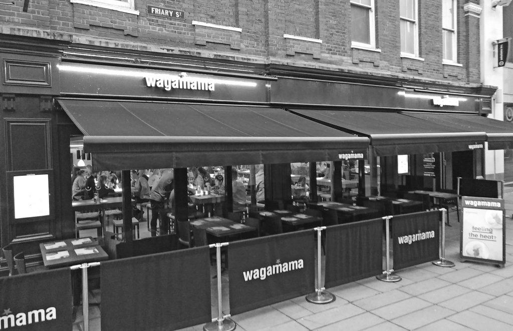 Wagamama, Wagamama Guildford, Wagamama KO Club, KO Club, places to eat with children, Wagamama children's menu, Wagamama review, dad blog uk, dadbloguk, dadbloguk.com, stay at home dad, school run dad