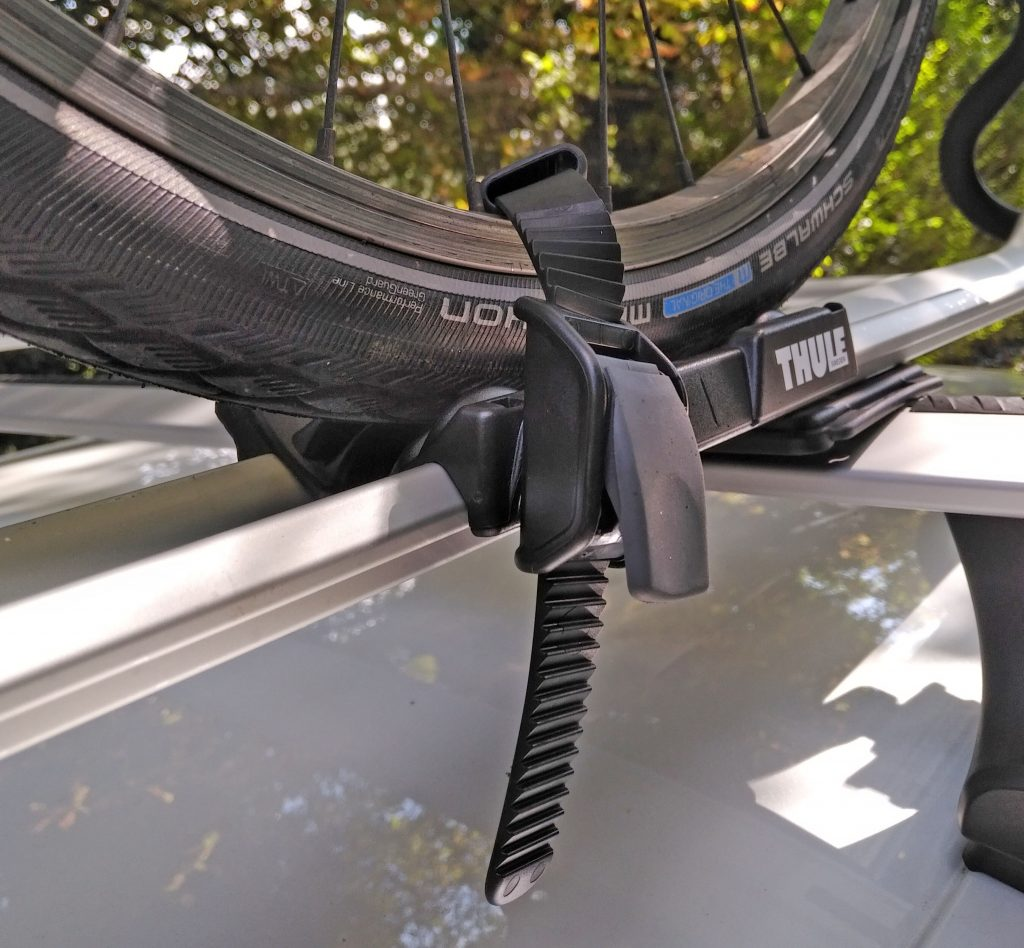 Thule, Thule ProRide, Thule ProRide review, bike roof carrier, dad blog uk, dadbloguk, dadbloguk.com, stay at home dad, school run dad, bike carrier review, Thule review