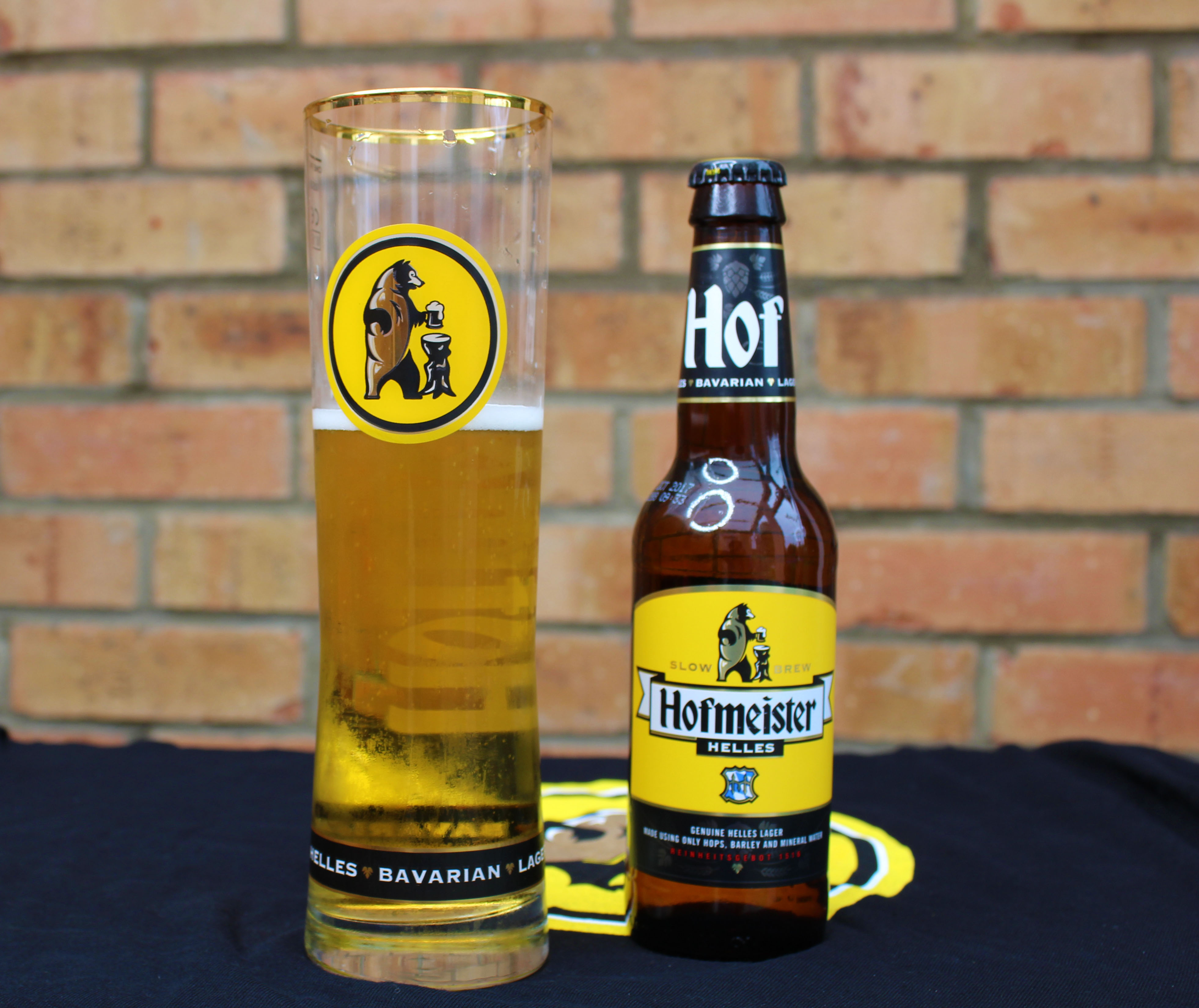 Follow the bear for a Hofmeister giveaway