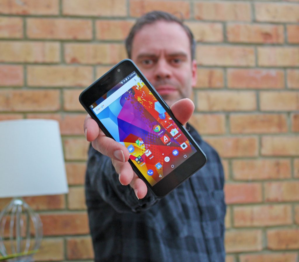 Alba, Argos, smartphone