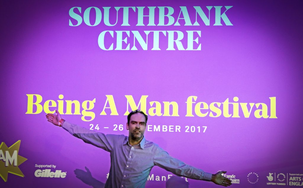 Being  A Man festival, Women of the World festival, Southbank Centre, John Adams of Dadbloguk.com, masculinity in the media, Motherland