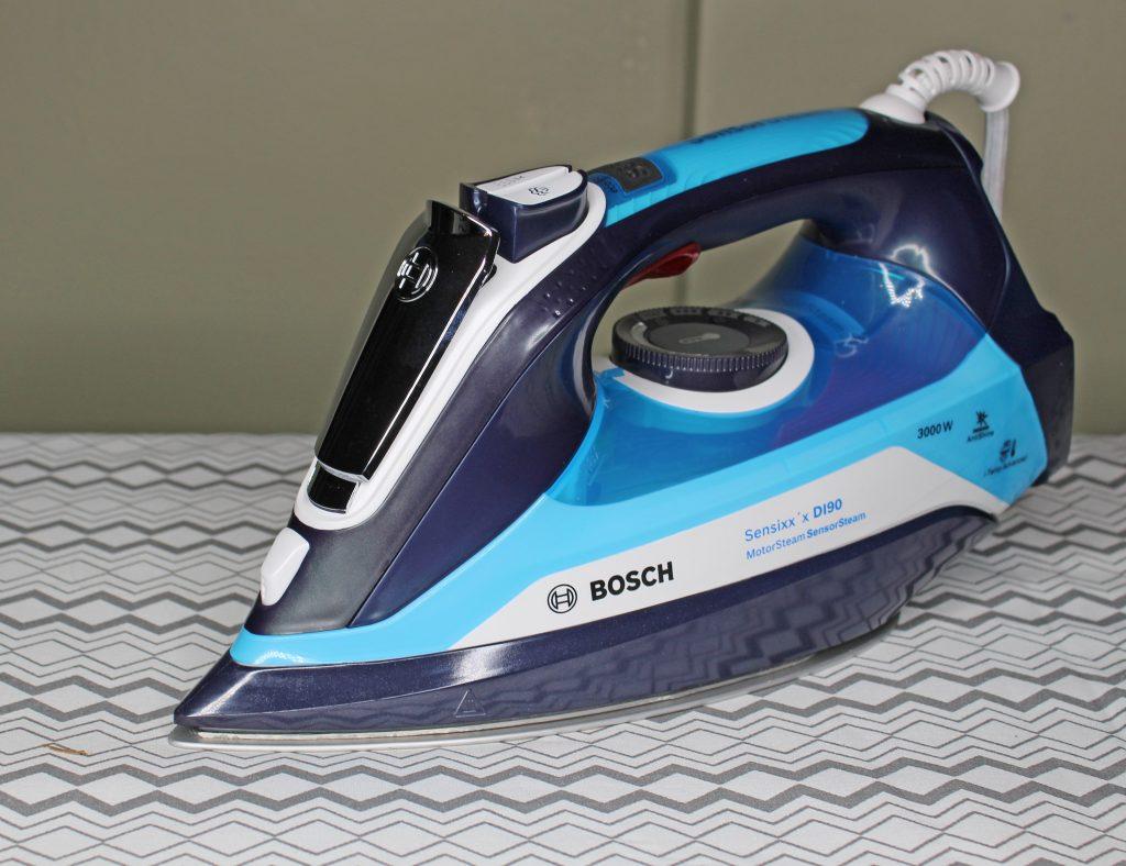 Bosch, Bosch Sensixx'x D190, Euronics, steam iron review, Bosch Sensixx'x review, dadbloguk, dadbloguk, dadbloguk.com