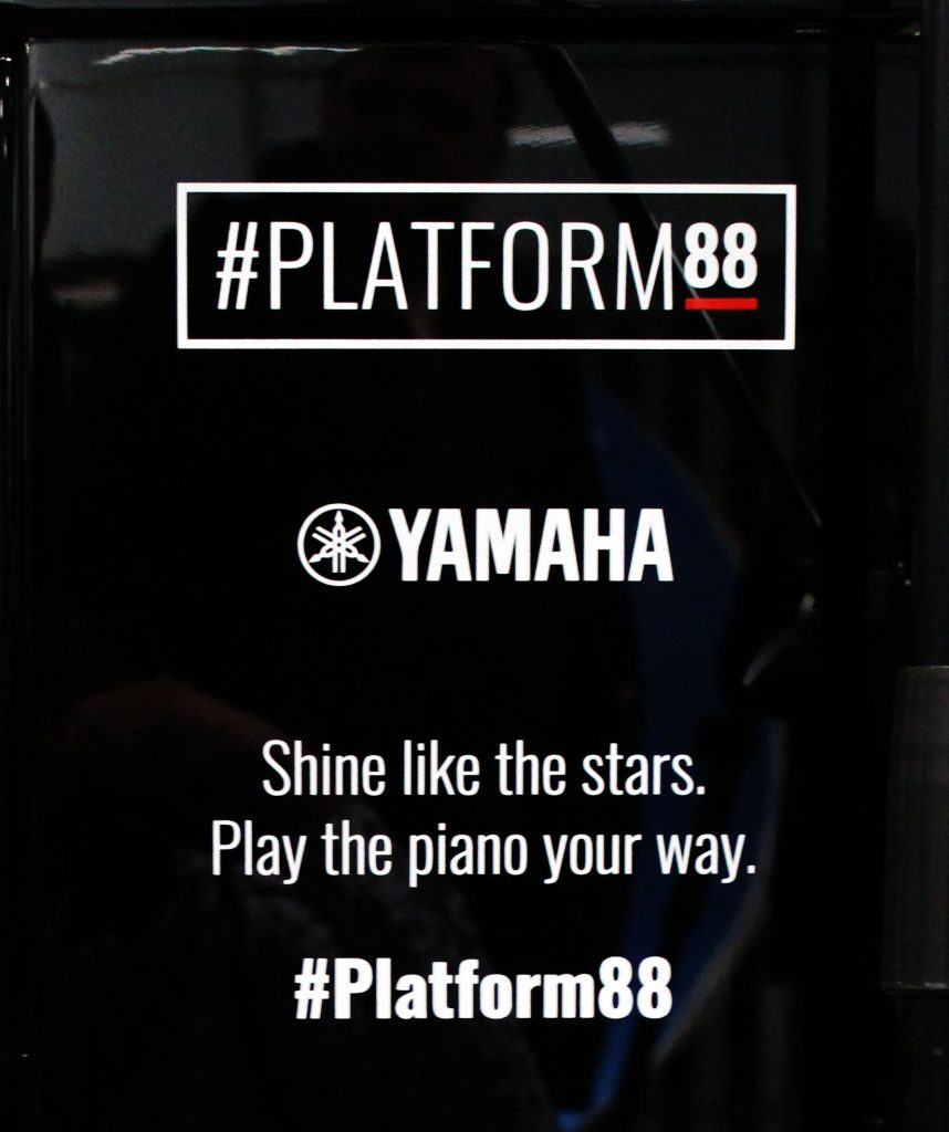 Tokio Myers, #Platform88, Yamaha, Yamaha Music, Britain's Got Talent, piano, piano playing, Transport For London, dadbloguk, dad blog uk, dadbloguk.com, school run dad, stay at home dad