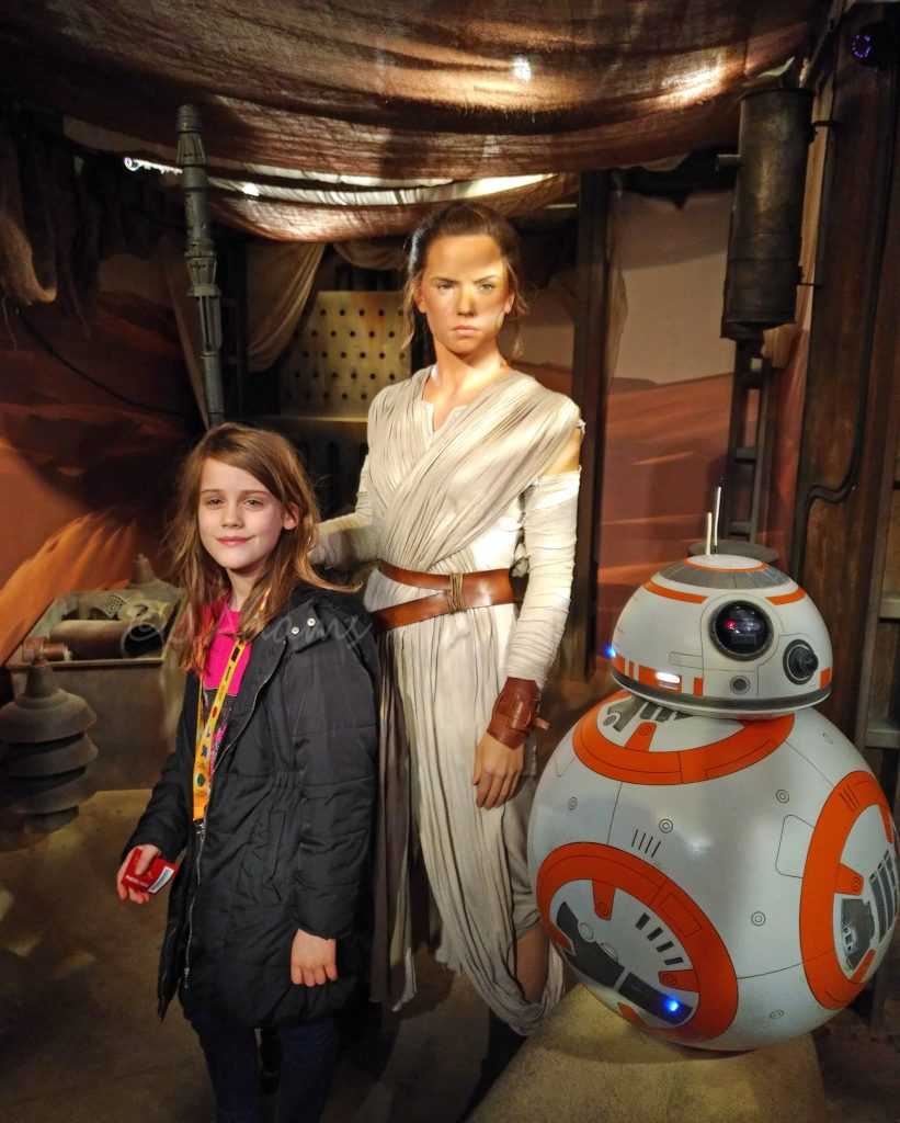 Madame Tussauds, Madame Tussauds London, Merlin, Merlin Annual Pass, days out in London with children dad blog uk, uk dad blog, Rey, Star Wars, daddy blogger