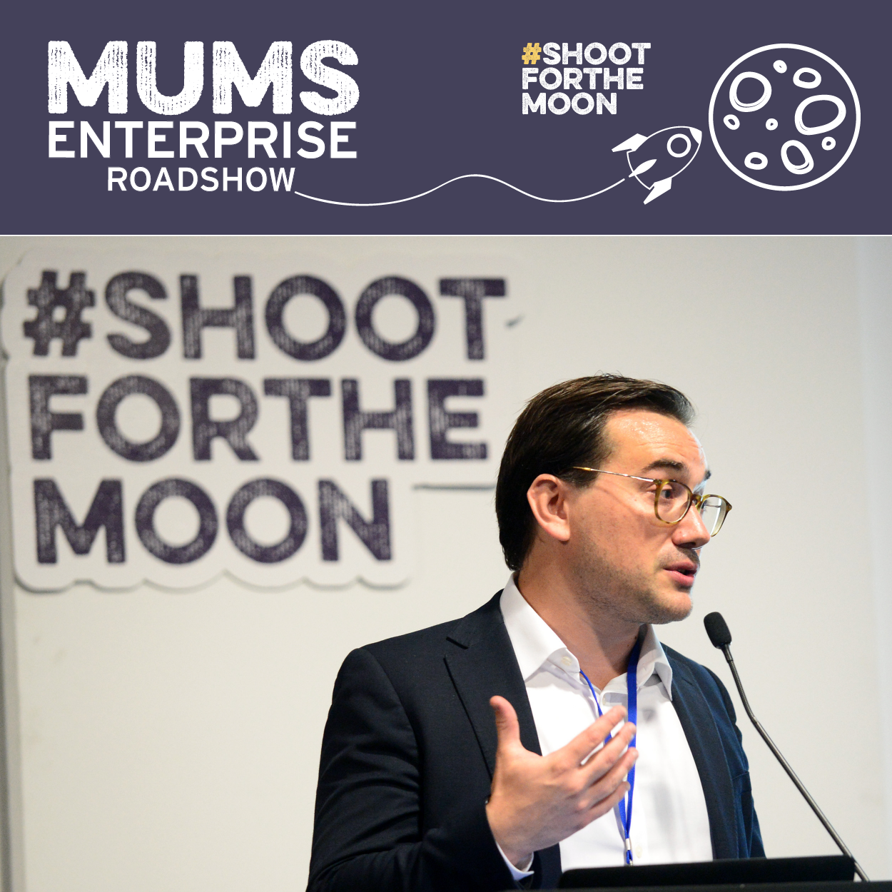Mums Enterprise Roadshow. Dads encouraged to attend too!