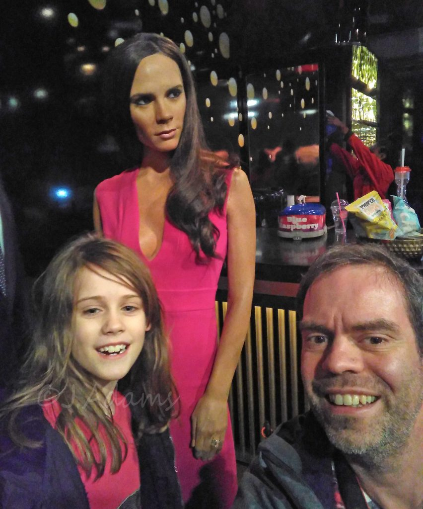Victoria Beckham Madame Tussauds, Madame Tussauds London, Merlin, Merlin Annual Pass, days out in London with children dad blog uk, uk dad blog, daddy blogger