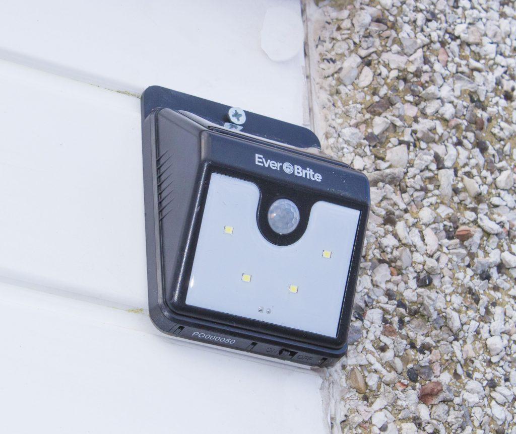 EverBrite, security light, solar powered light, home improvement, home security, dadbloguk. dadbloguk.com, school run dad, sahd, uk dad blog, uk dad blogger