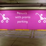 Parent and child parking. How old should the child be?